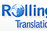 Webdesign and development for Rollinger Translations International Tranlations